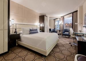 China Hotel Luxury Furniture Classical Style , Genuine PU Leather Modern Hotel Furniture on sale
