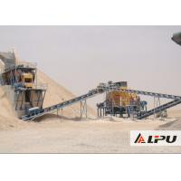 Eco - Friendly Wheel Type Stationary Stone Crushing Plant For Quarry