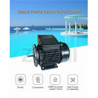 China Swimming Pool Pump Single Phase Induction Motor 1.1kw 1.5 Hp Capacitor Running on sale