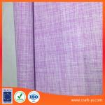 Easy clean pink with white 2X2 weave soft Textilene fabric China manufactory