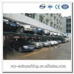 Double Parking Car Lift Tilting Car Lift Car Parking Rack Vertical Storage System