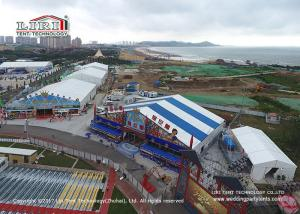 China 18m Width Shape Roof Outside Tents For Parties / Movable Beer Festival on sale