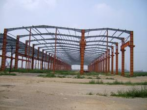 China Custom Fabricated Conventional Structural Prefabricated Steel Pre-Engineered Building on sale
