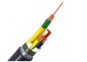 China 5 Core Power Cable Polyvinyl Chloride Insulated Metallic Armoured Optional Electric Cable on sale