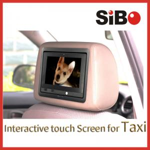 China 7 Inch Backseat Digital Taxi Advertising Screen on sale