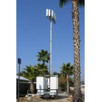 Vehicle Mounted Pneumatic Telescopic Mast Mobile Light Tower With tripod