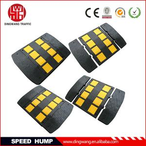 China European Standard Reflective Rubber Speed Hump on sale