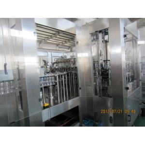 China 275ml / 300ml Glass Bottle Carbonated Beverage Filling Machine DCGF60-60-15 on sale