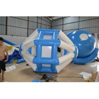 Green And Durable Inflatable Water Toys , Water Inflatable Rock Climbing Wall