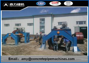 China Horizontal Type Concrete Pipe Forming Machine With Carbon Steel Material on sale