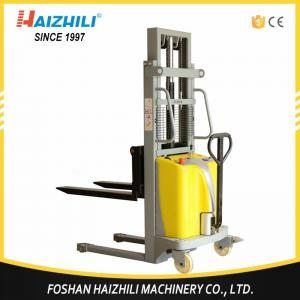 China Low price material handling tools China 1000kg semi-electric stacker on sale