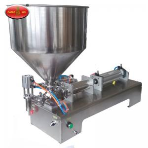China Pneumatic type filling machine for high viscosity liquid and paste on sale