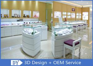 China Attractive Jewellery Counter Display / Gold Shop Counter Design on sale