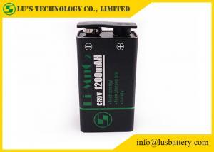 China LiMnO2 Battery 1200mah 9V battery For Smoke Detectors on sale
