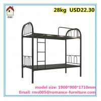 hot sale bedroom metal furniture best price bunk metal bunk bed/school bunk beds B004