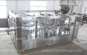 China Automatic Mineral Water Filling Machine 3 In 1 CGF 18-18-6 For Non-Carbonated Water on sale