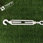 Qingdao Yanfei Rigging -Rigging Hardware-6mm,8mm,10mm European type (commercial) eye hook turnbuckle