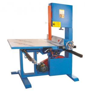 China Vertical Polyurethane Memory Foam Cutting Machine Fast Wire Semi Automatic on sale