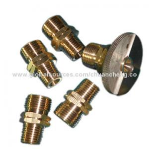 China Customized Brass Hose Connector, Male and Female, brass fitting on sale
