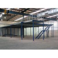 2-Layer Max 6000mm Upright Industrial Mezzanine Floors , Mezzanine Construction