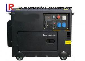 China Single / Three phase Diesel Generator 5.5kw Elelctric Start with Bettery on sale
