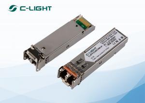 China Compatible Cisco CWDM SFP Transceiver SMF 2.5G 1610nm LC Dulplex on sale