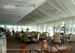 China Liri high-end Arcum Tent 10x20m with glass wall used for outdoor golf events on sale