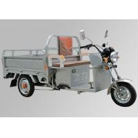 China 48V 800W Motor Three Wheel Electric Scooter , 3 Wheel Cargo Motorcycle Steel Wheel on sale