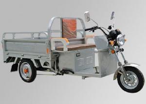 China 48V 800W Motor Electric Three Wheel Motorcycle 3 Wheel Cargo Motorcycle Steel Wheel on sale