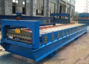 China Steel Roll Shutter Door Forming Machine , Door Frame Roll Forming Machine? on sale