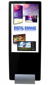 China 55inch  super slim shopping mall kiosk design narrow bezel lcd digital signage with software on sale