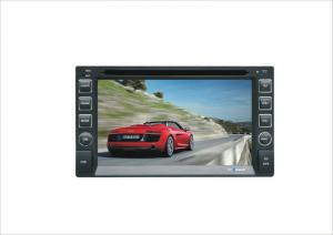 China 6.2  Touch Screen Double Din Dvd Players With Dvd / Mp3 / Vcd / Cd, Tv / Radio, Am / Fm Tuner Cr-6286 on sale
