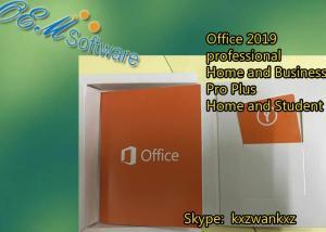 Original Office 2016 PKC , Office 2016 Pro Plus Retail Key Dvd Box