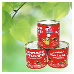 China Canned tomato paste/ tomato sauce/ tomato ketchup 4004*24tins on sale