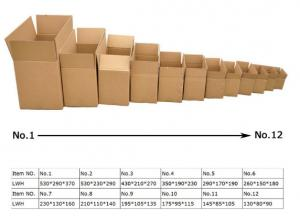 China Packaging Use Custom Corrugated Box Popular shoes packaging corrugated carton box on sale