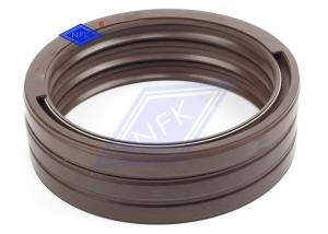 China Shift Rod Rotary Lip Seal Cross Section Shape Wear Resistant Fit KOMATSU 6D108 on sale
