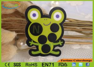 China OEM Frog Sensitive Temperature Stickers ROSH EN71 Approval Fever Indicator Stickers on sale