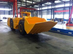 China 6 Tons Front Wheel Loader , 3 Cbm Mining Wheel Loader Robust Design Tenets on sale