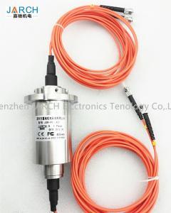China Single  Fiber Optic Rotary Joint Multi-Channel Fibre Optic Slip Ring FORJ with Singlemode Mutilmode on sale