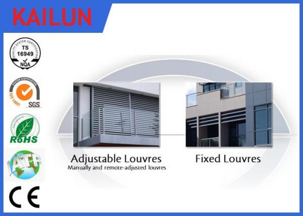aluminium external venetian blinds window louvres pin