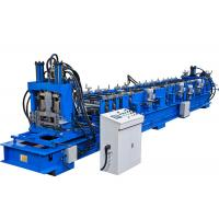 China Customized Voltage CZ Purlin Roll Forming Machine 16 Stations 15m/Min Speed on sale