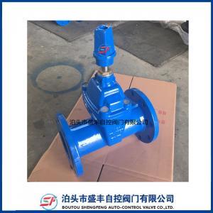 China 6 inch water cast iron underground gate valve on sale