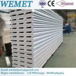 EPS fire proof insulated roof panel for steel warehouse, prefabricated hosue
