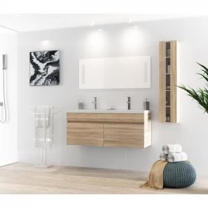 China White Table Modern Style 120 Inch Bathroom Vanity For Small Bathrooms on sale