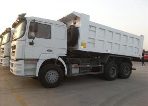 China 25 Ton Payload Ventral lifting Heavy Duty Dump Truck cab with air - condition on sale