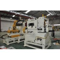 Coil Decoiler Straightener Feeder 3 In 1 Machine 0.6-6.0mm Single Head With Cantilever
