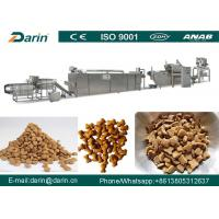 JINAN DARIN Pet Food Extruder Fish Pellet Production Line 5300 x 1100 x 2300mm