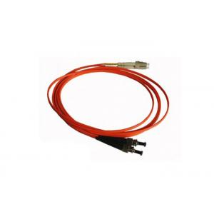 China OEM Fiber Optic Cable Accessories ST Fiber Optic Patch Cable Cord / Jumper on sale