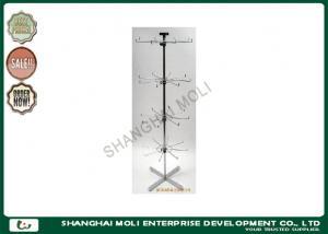 China Los ganchos giratorios del alambre y del metal suelan el estante de exhibición del hilandero, estantes de exhibición de la tienda para las gafas de sol on sale