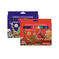 China colored box packed art marker set,box packed watercolor drawing art marker on sale